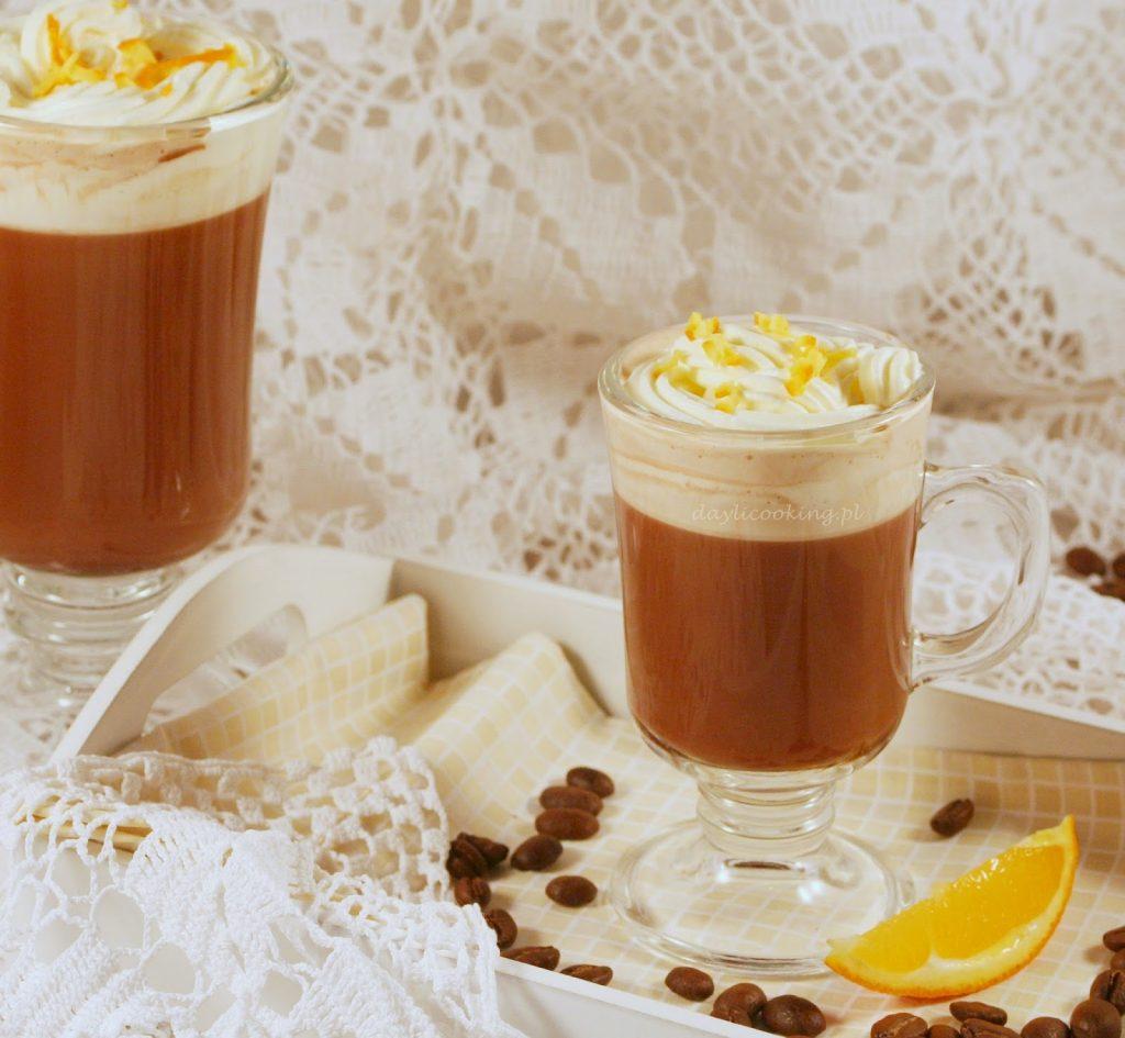 Kawa czekoladowa ze skórką pomarańczową - przepis na cafe Borgatta
