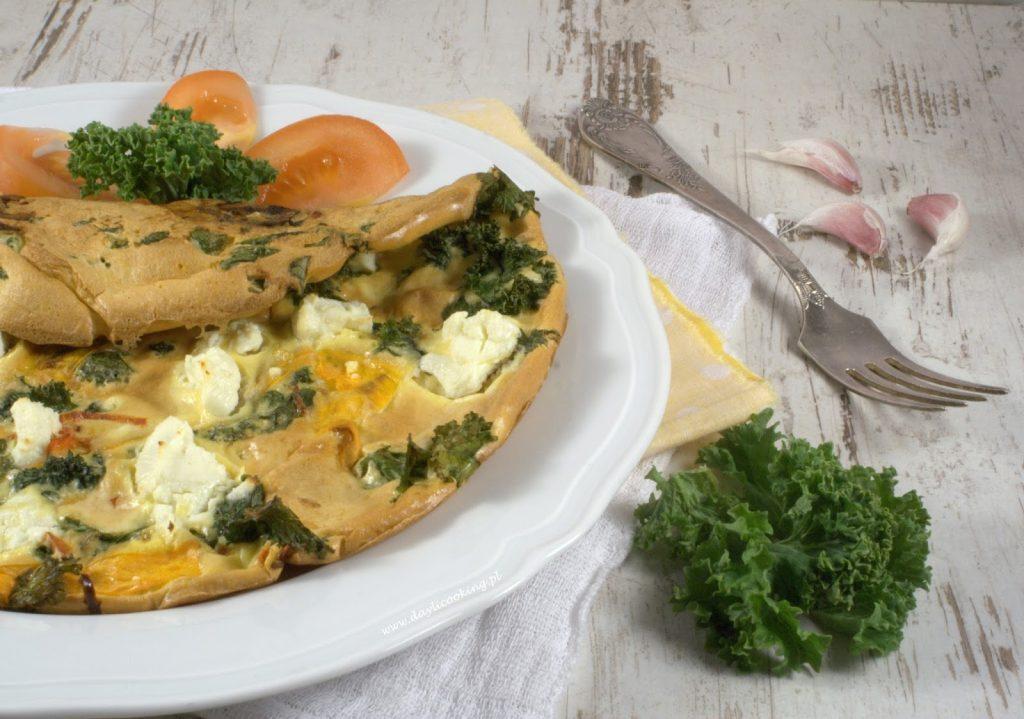 przepis na omlet, wytrawne śniadanie na ciepło, kolacja na gorąco, daylicooking