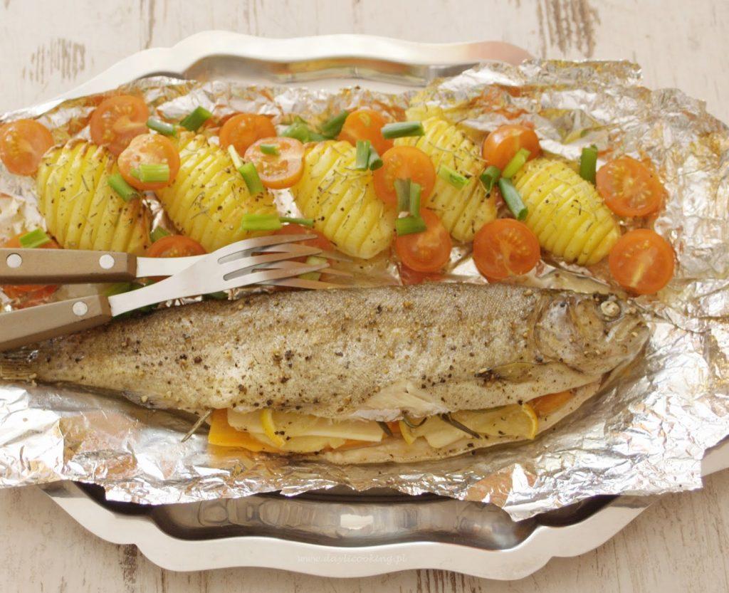 ryba w folii