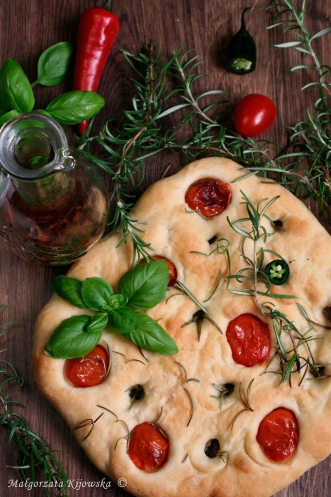 włoskie pieczywo, pizza inaczej