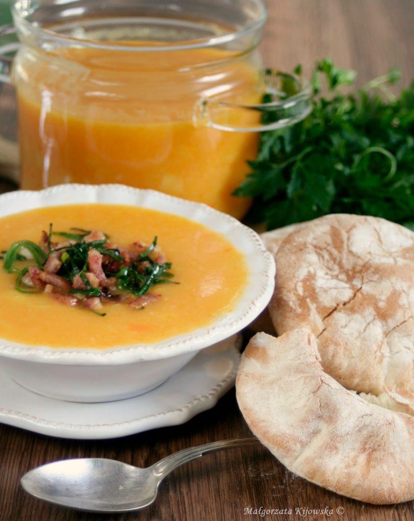 obiad, zupa z warzyw, zupa krem