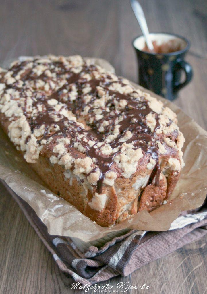 szybkie ciasto orzechowe, błyskawiczne ciasto z orzechami