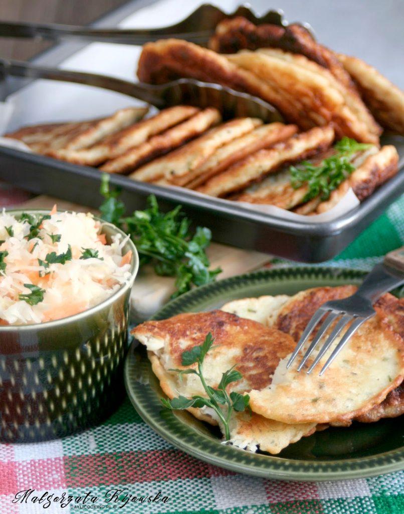placki z kiszonej kapusty, kuchnia bieszczadzka, potrawa regionalna