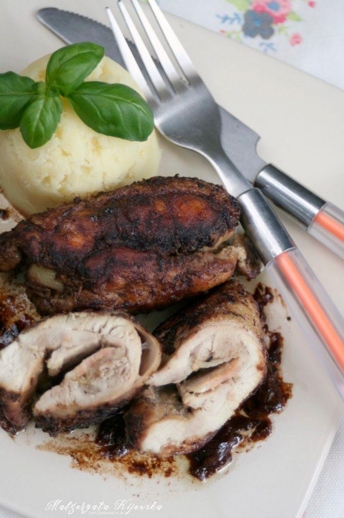 duszony w czerwonym winie drób, obiad, mięso duszone, daylicooking, Małgorzata Kijowska
