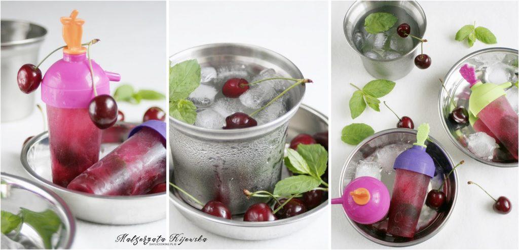 domowe lody, deser, czereśnie, lodowy deser, daylicooking, Małgorzata Kijowska, co na ochłodzenie