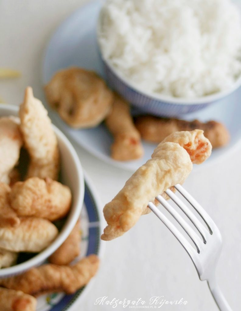 kuchnia japońska, ryba w tempurze, smażenie w tempurze
