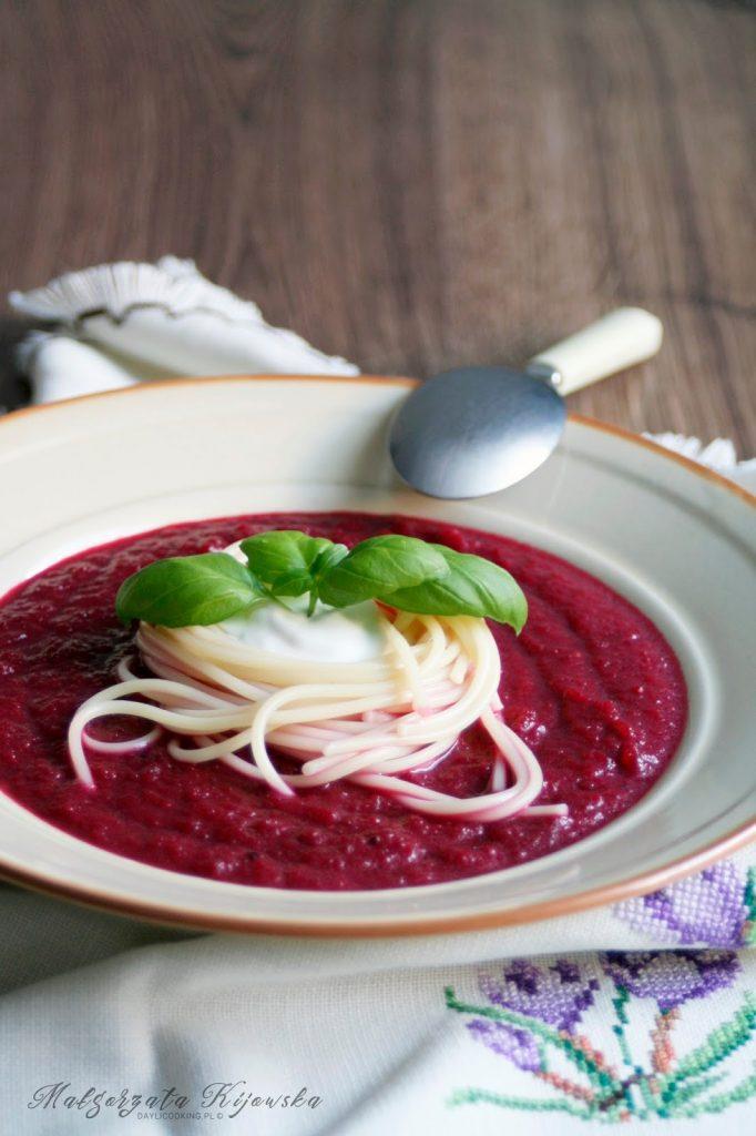 zupa, obiad na lato, chłodnik, daylicooking, Małgorzata Kijowska