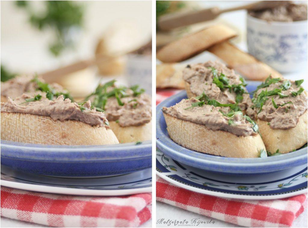 grzanki, tosty, kanapki na ciepło, pasztet, wątróbka, daylicooking, Małgorzata Kijowska