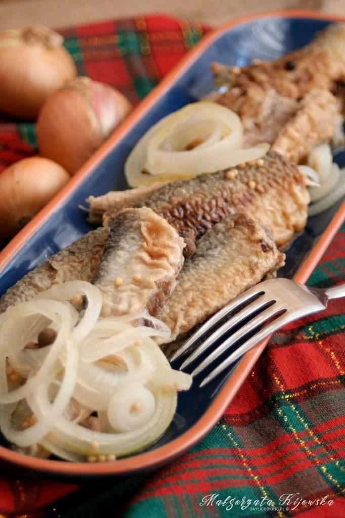 ryby marynowane, śledź w marynacie, przekąski, Boże Narodzenie, daylicooking