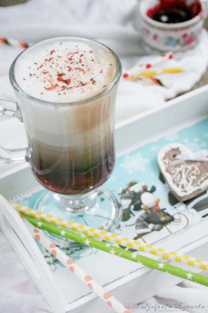cherry latte, bez kofeiny, daylicooking