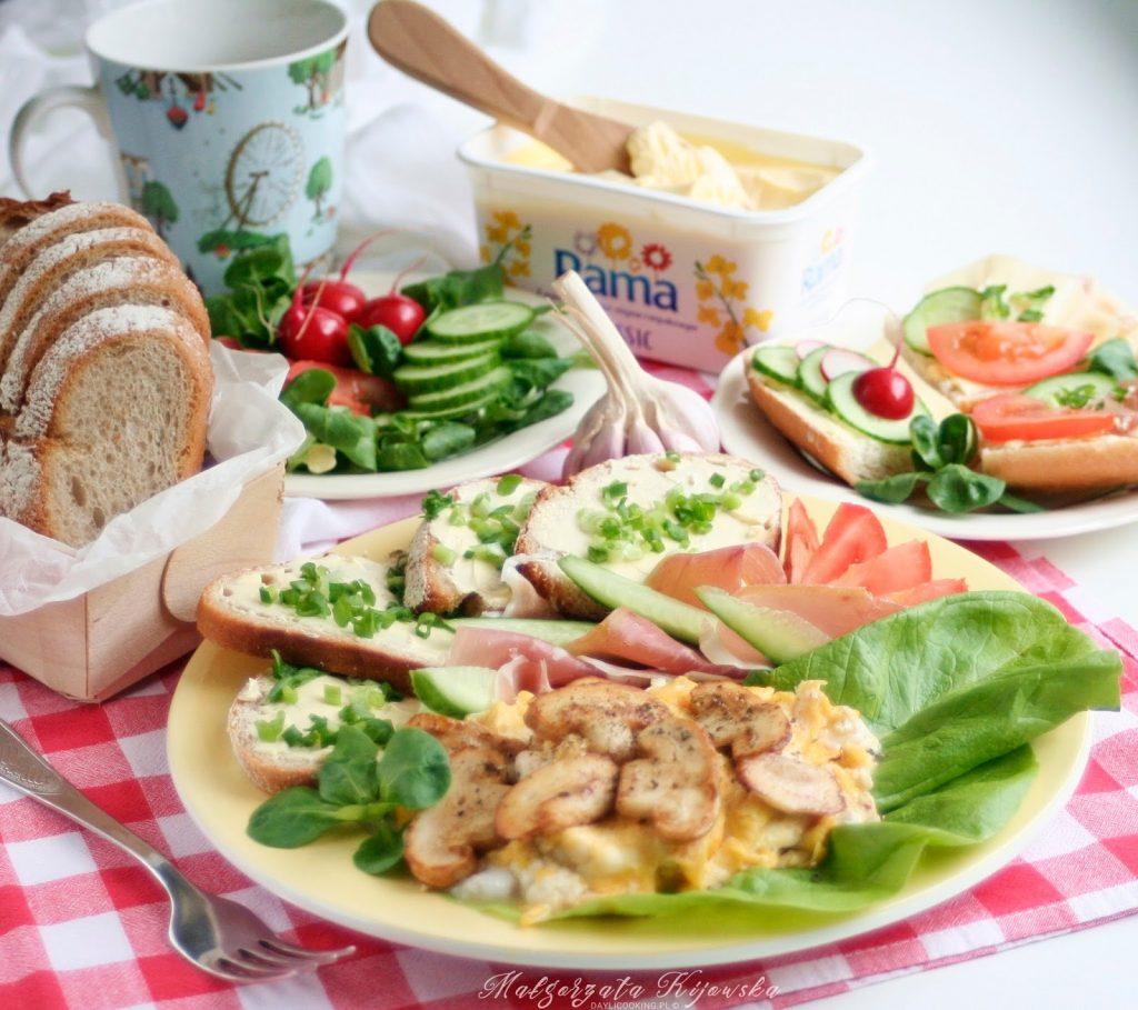 co na śniadanie?, szybkie śniadanie, kanapki, kolorowe kanapki, daylicooking