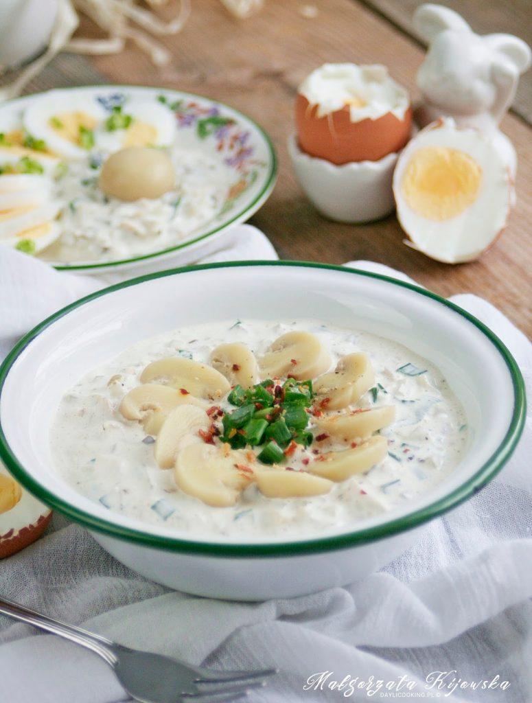 dodatki do jajek, z czym jeść jajka?, sos majonezowy, sos na zimno do jajek, daylicooking, Wielkanoc, wielkanocne przepisy