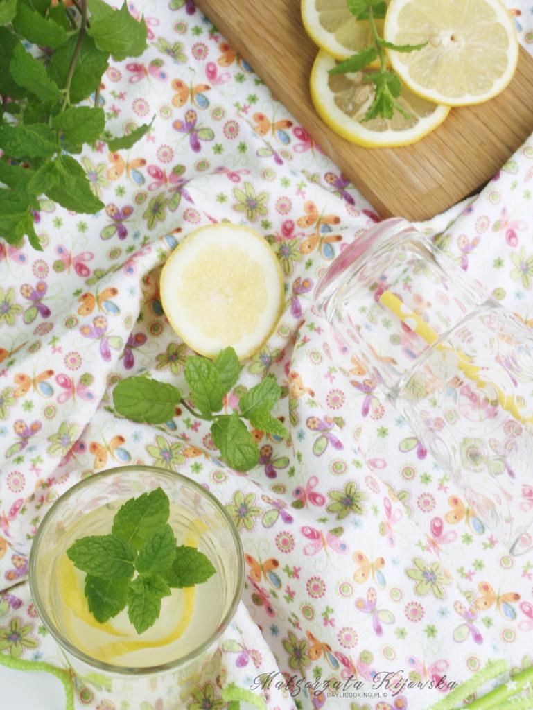 jak zrobić lemoniadę? z czego robi się domową lemoniadę? napoje orzeźwiające, daylicooking