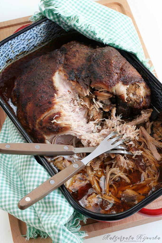Przepis na łopatkę wieprzową pulled pork