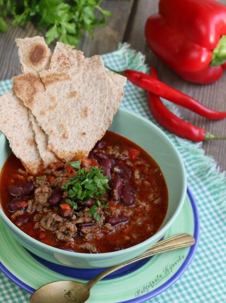 danie meksykańskie, kuchnia meksykańska, co to jest chilli con carne, jak się robi chilli con carne, daylicooking