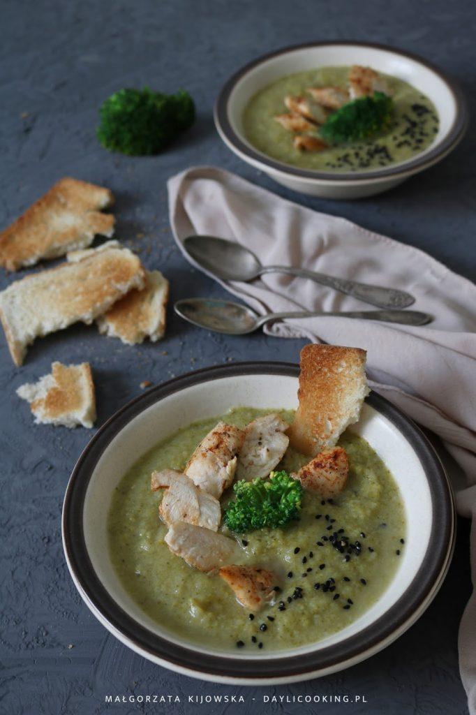 co zrobić z brokuła?, jak wykorzystać brokuł?, przepis na zupę z brokuła, daylicooking