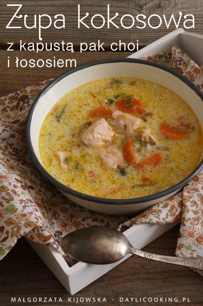 sprawdzony przepis na zupę rybną, błyskawiczna zupa rybna, zupa z mleczkiem kokosowym, zupa z łososiem, zupa łososiowa, jak zrobić zupę rybną, daylicooking
