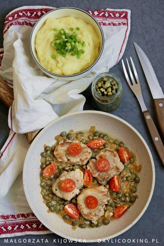 przepis na polędwicę wieprzową, jak zrobić puree z ziemniaków, daylicooking