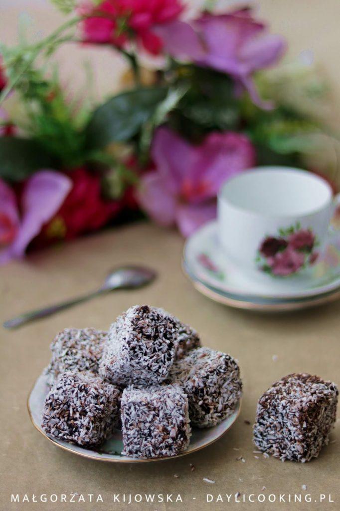 jak zrobić kokosanki, polewy do ciast nie tylko czekoladowe, daylicooking, proste domowe desery