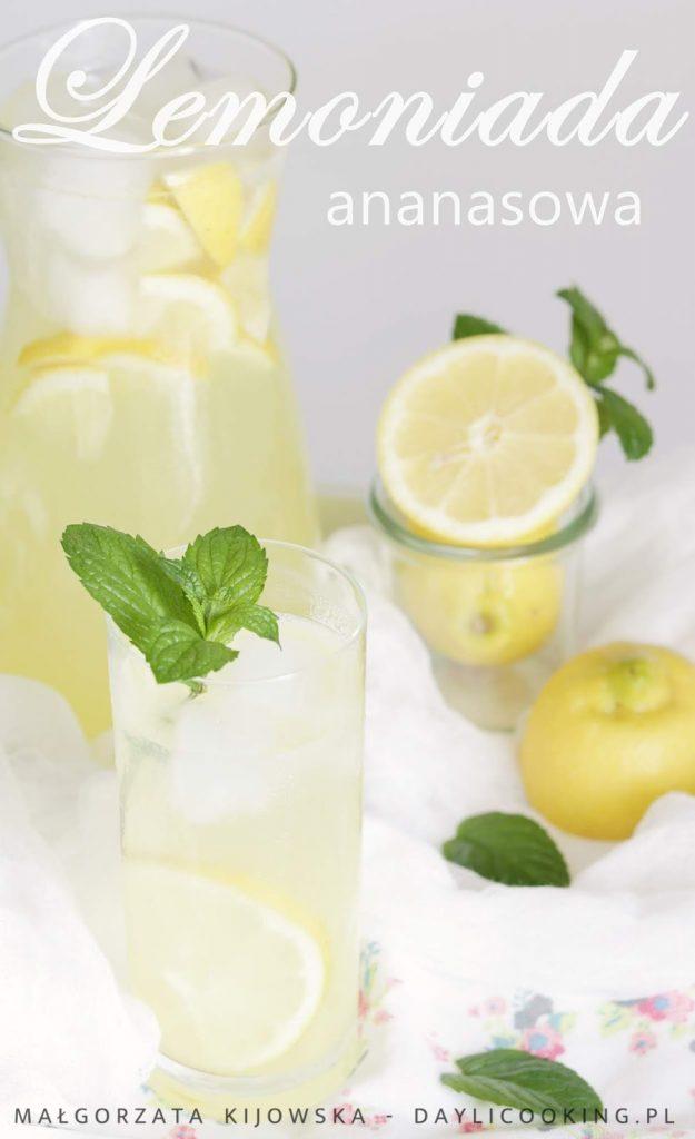 jak zrobić lemoniadę, przepis na domowy napój chłodzący, napoje bezalkoholowe, co pić podczas upałów, daylicooking