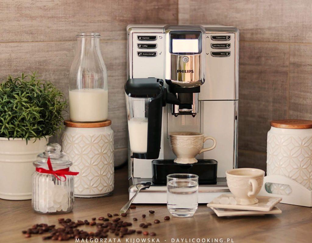 recenzja na temat ekspresu do kawy latte go philips