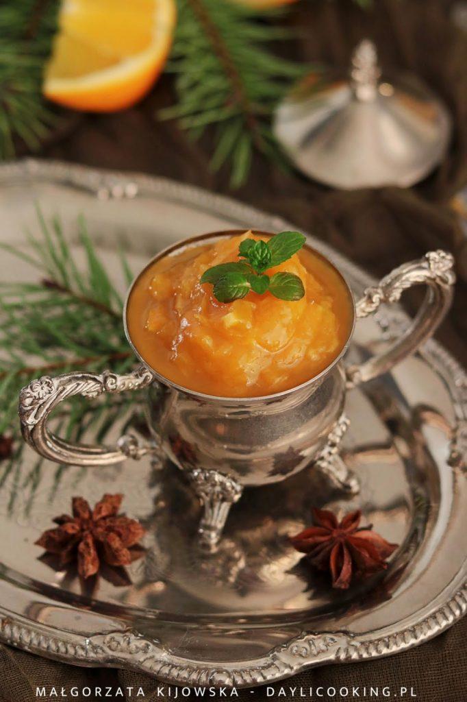 Przepis na lekki dżem dyniowy pomarańczowy
