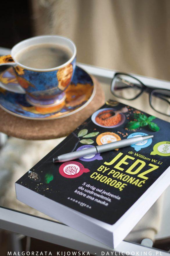 Jedz by pokonać chorobę, recenzja książki