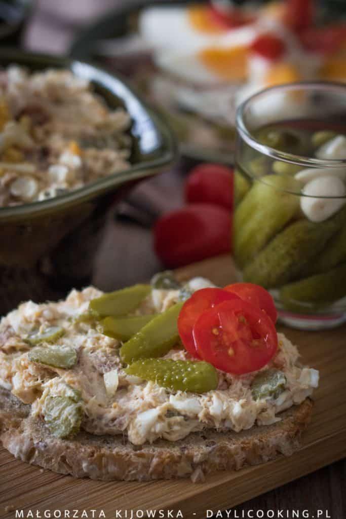 Pasta z makreli wędzonej - jak zrobić, przepis