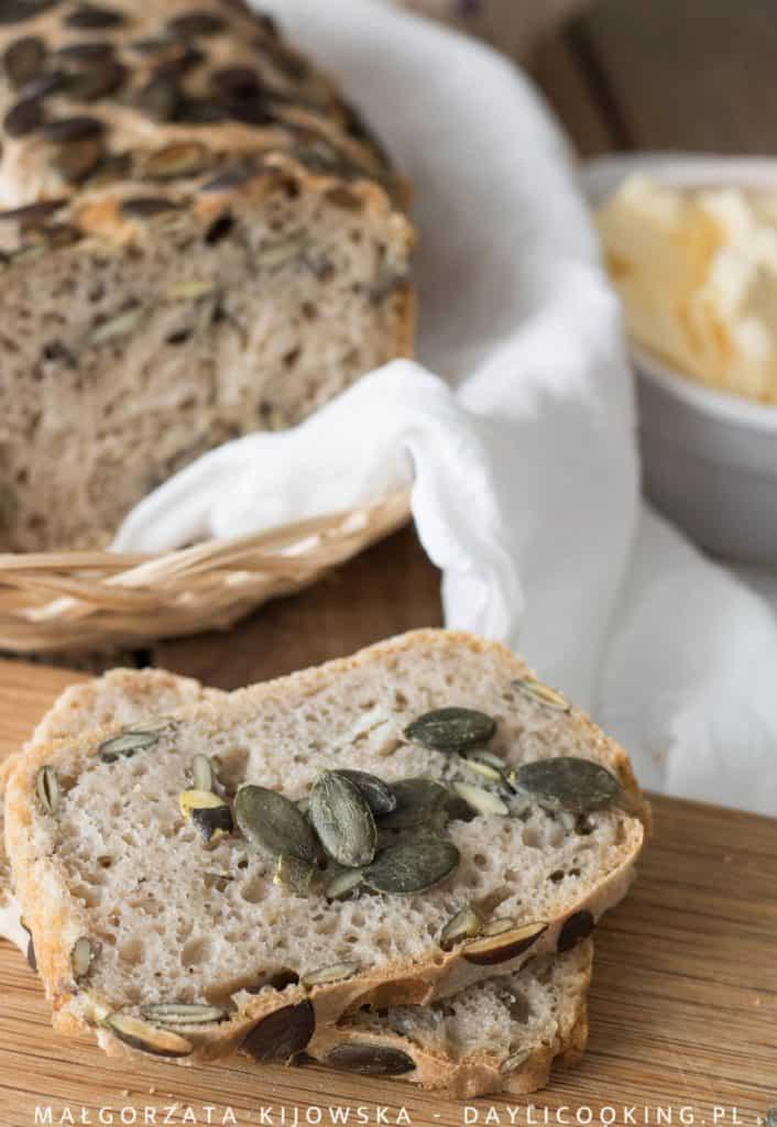 Przepis na żytni chleb na zakwasie