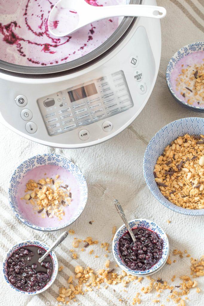 Multicooker Twist 2945 Ariete przepis na domowy jogurt