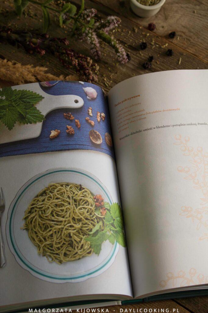 recenzja książki Patrycji Machałek Smak dzikich rośłin